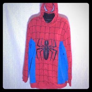 Spider-Man Zip Up with Hood Mask